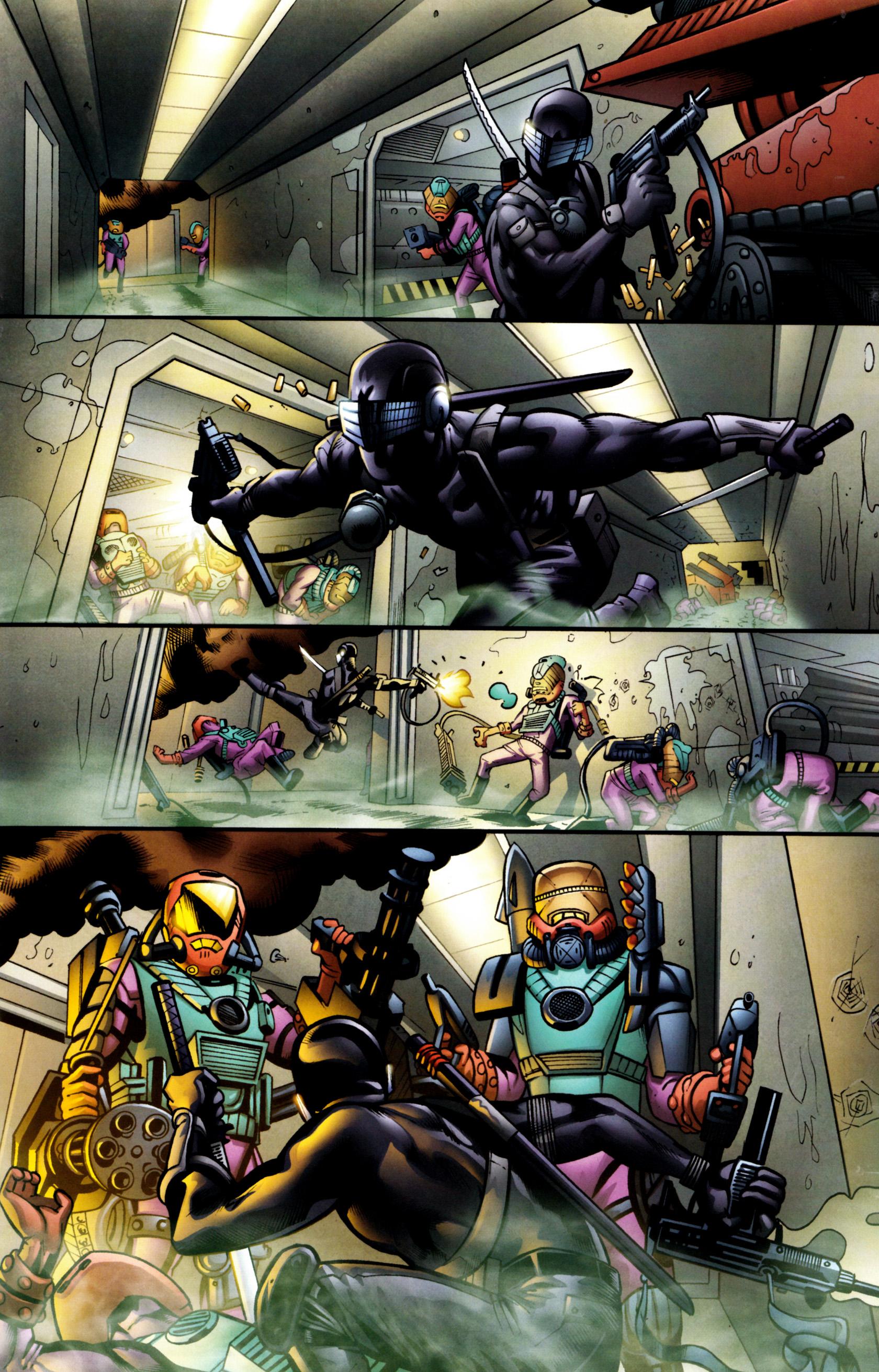 Read online G.I. Joe: Snake Eyes comic -  Issue #8 - 8