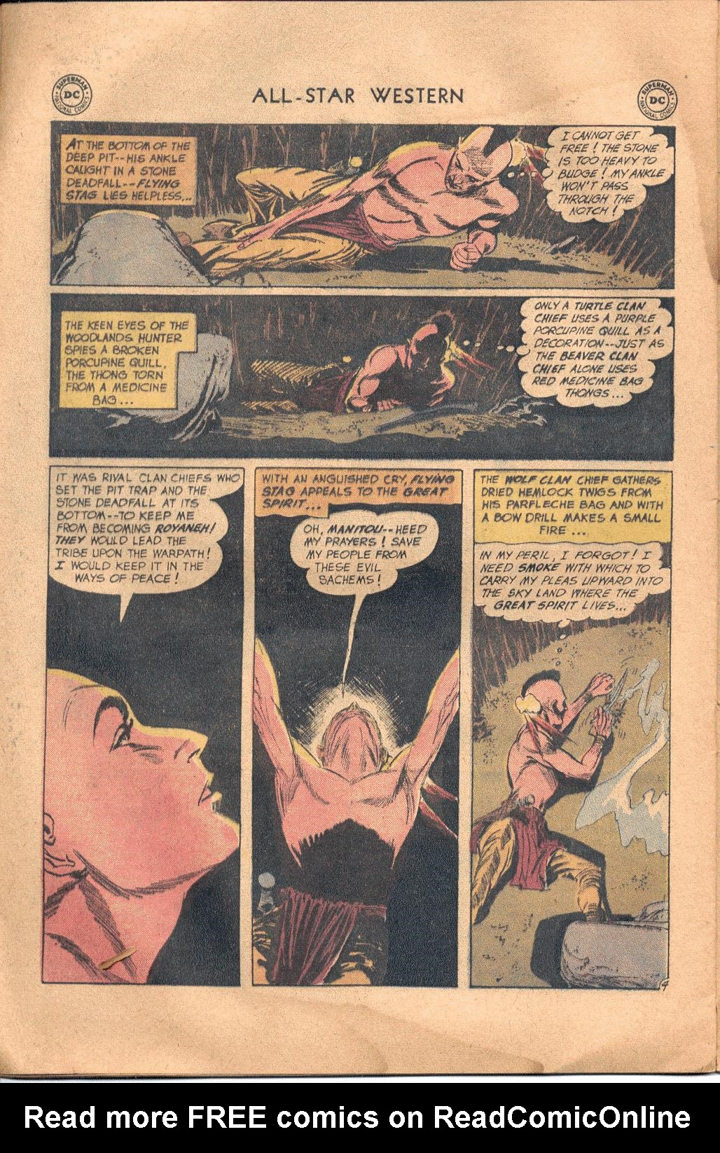 Read online All-Star Western (1951) comic -  Issue #117 - 23