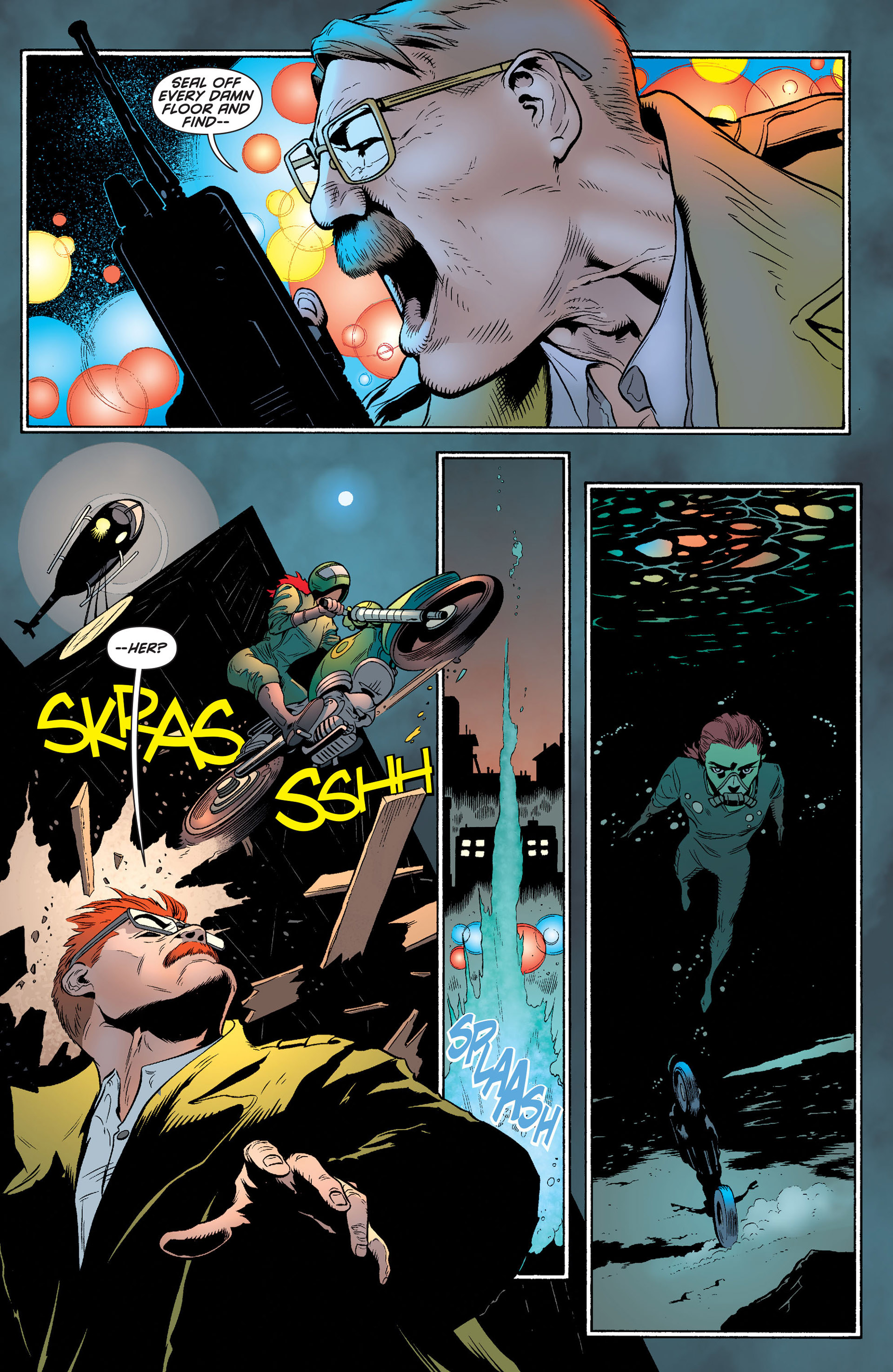 Read online Batman and Robin (2011) comic -  Issue #24 - Batman and Two-Face - 13