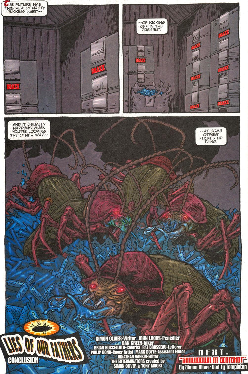 Read online The Exterminators comic -  Issue #16 - 23