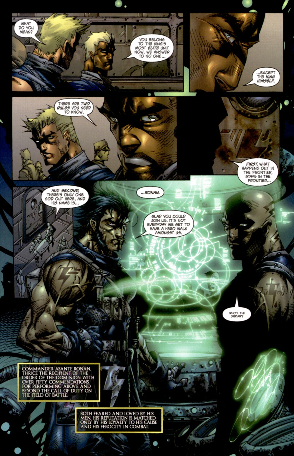 Read online Soul Saga comic -  Issue #4 - 6