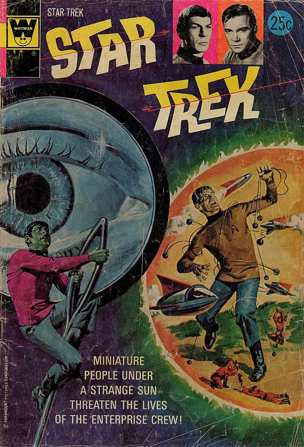 Star Trek (1967) issue 25 - Page 1