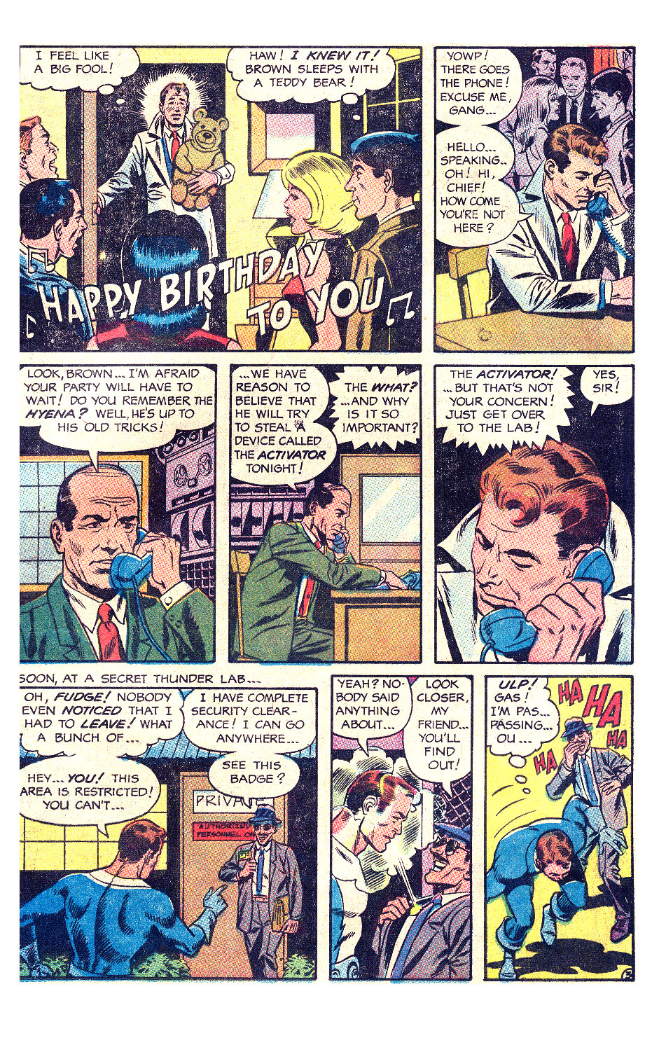 T.H.U.N.D.E.R. Agents (1965) issue 17 - Page 8