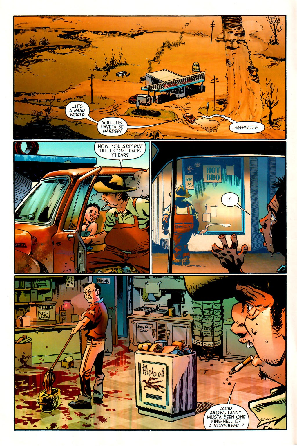 Read online Route 666 comic -  Issue #15 - 4