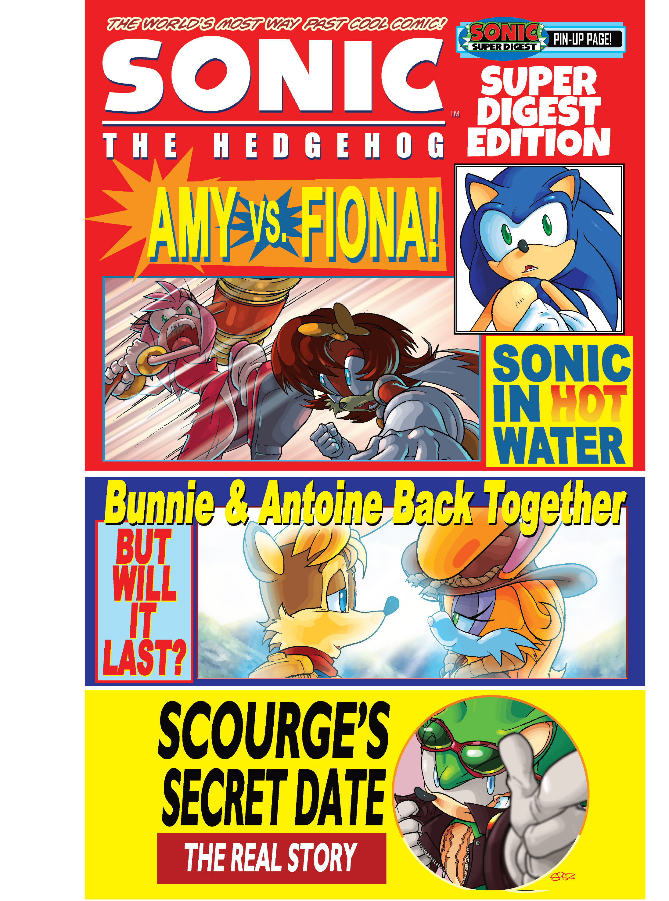Read online Sonic Super Digest comic -  Issue #7 - 82