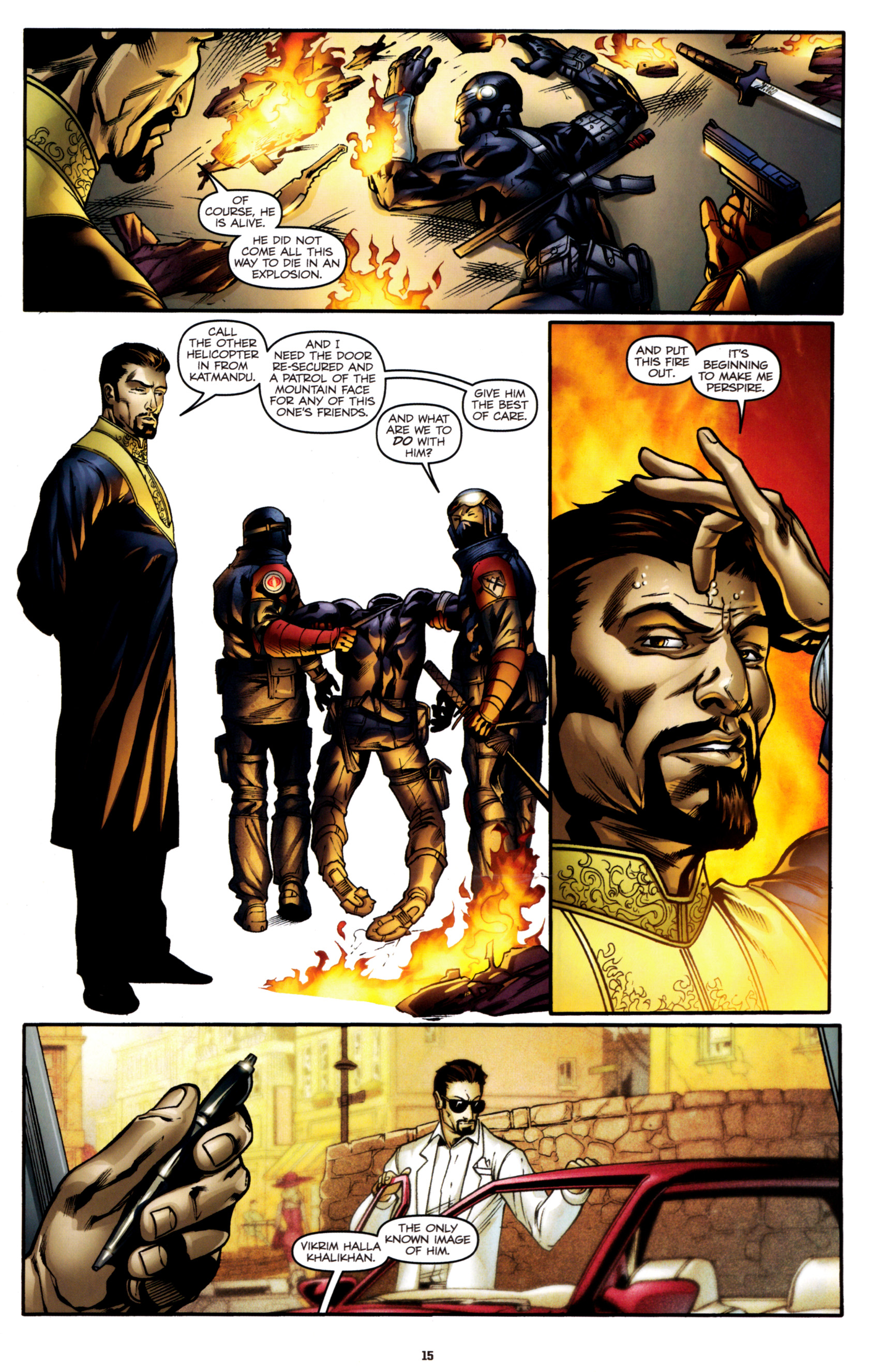 Read online G.I. Joe: Snake Eyes comic -  Issue #2 - 18