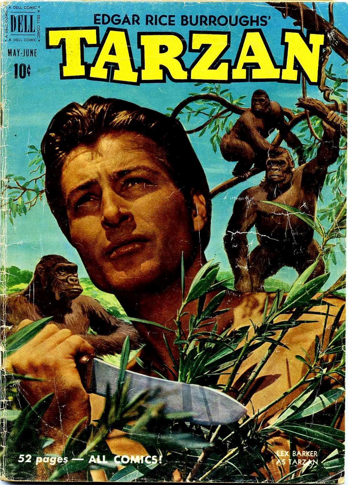 Tarzan (1948) issue 21 - Page 1