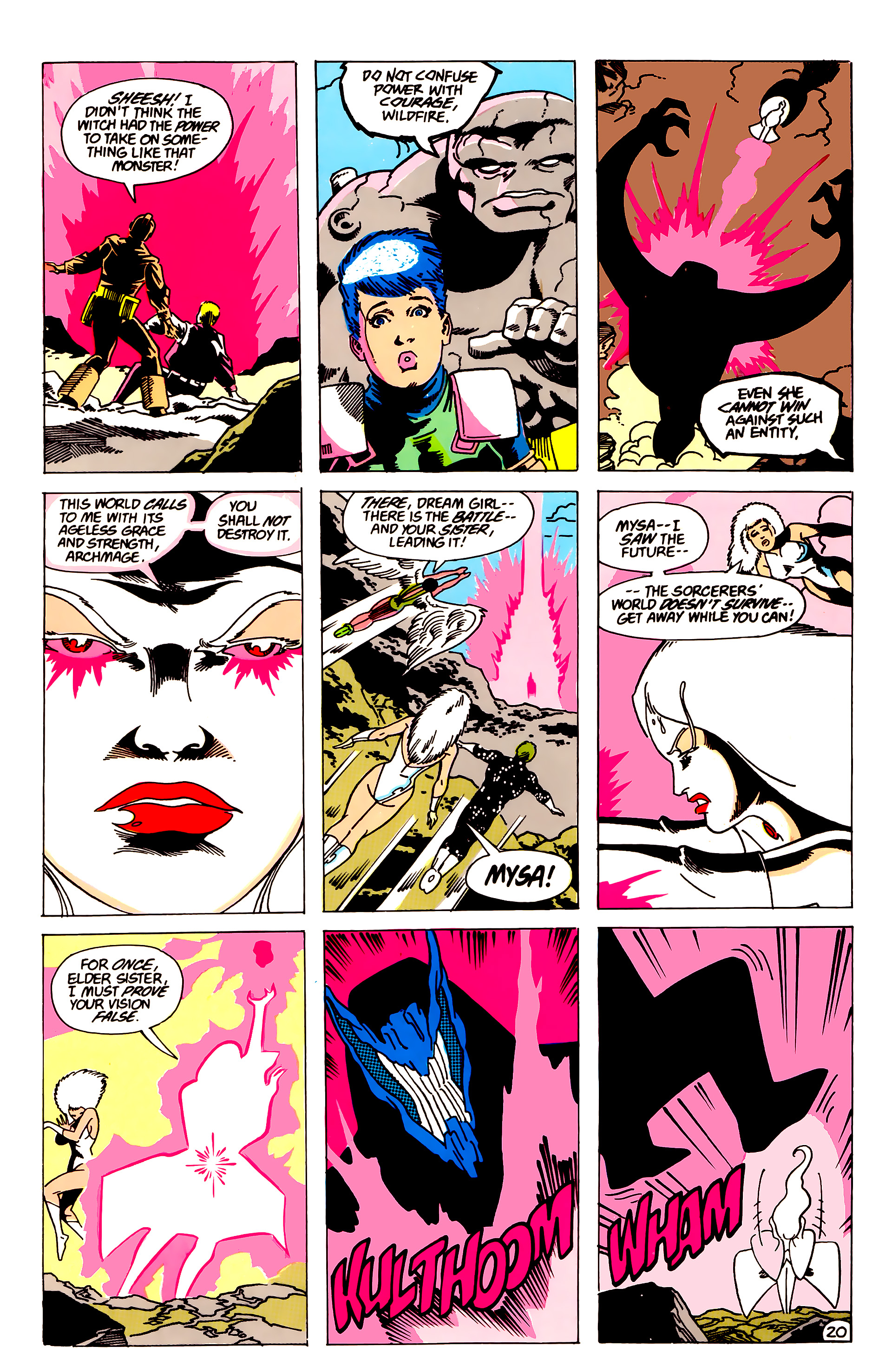 Legion of Super-Heroes (1984) 63 Page 20