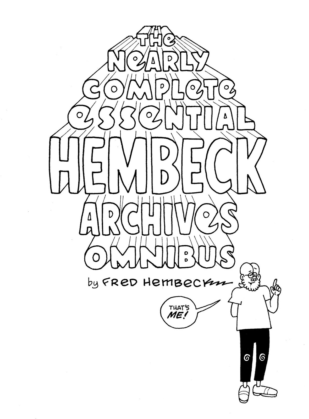 Read online The Nearly Complete Essential Hembeck Archives Omnibus comic -  Issue # TPB (Part 1) - 4