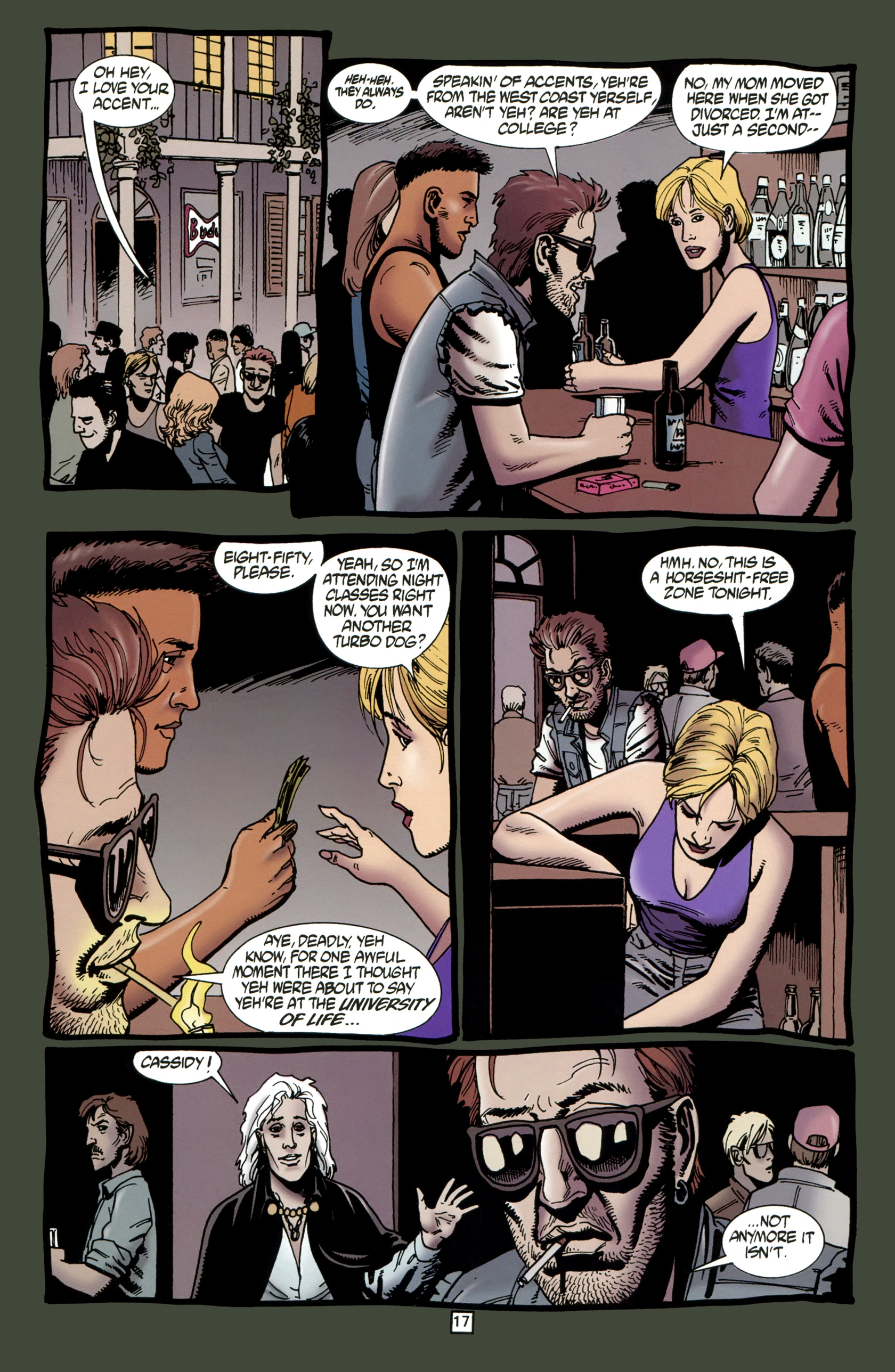 Read online Preacher Special: Cassidy : Blood and Whiskey comic -  Issue # Full - 19