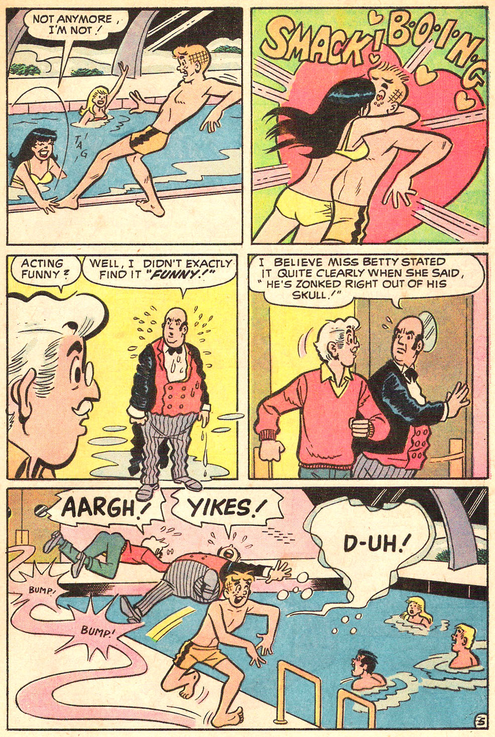 Read online Archie's Girls Betty and Veronica comic -  Issue #195 - 29