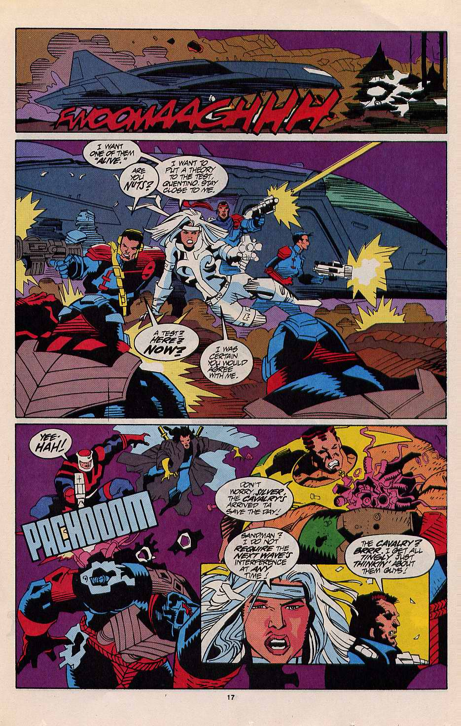 Read online Silver Sable and the Wild Pack comic -  Issue #12 - 15
