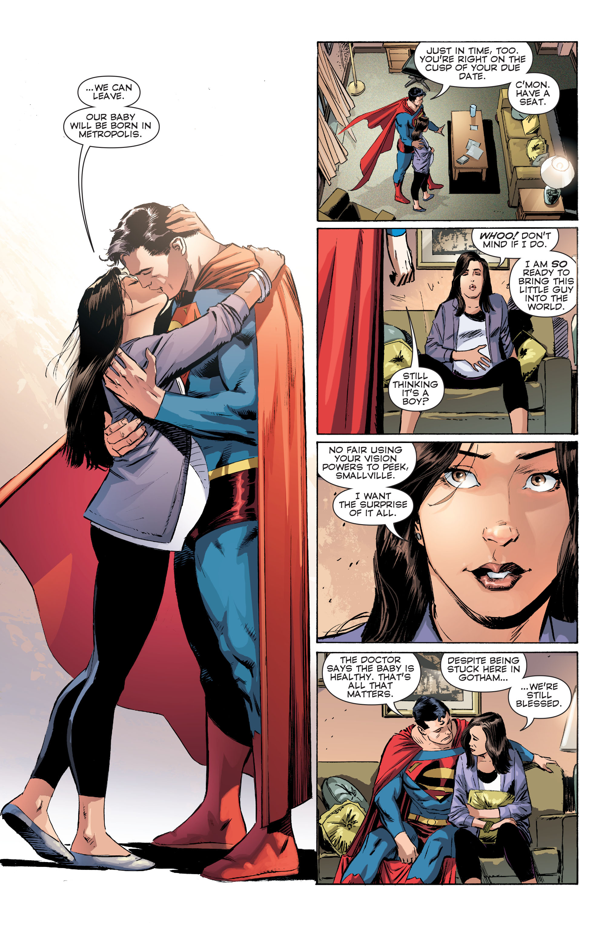 Read online Convergence Superman comic -  Issue #1 - 10