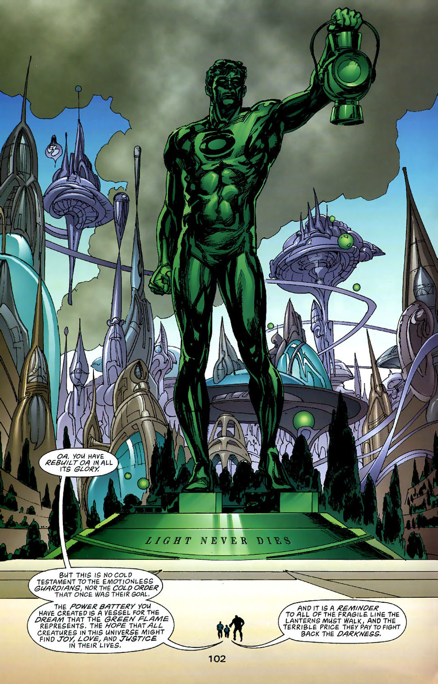 Read online Green Lantern: Legacy: The Last Will and Testament of Hal Jordan comic -  Issue # TPB - 110