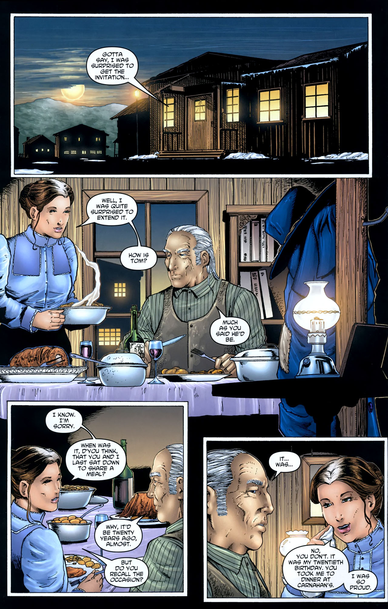 Read online Garth Ennis' Streets of Glory comic -  Issue #5 - 12