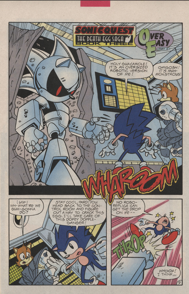 Read online Sonic Quest - The Death Egg Saga comic -  Issue #3 - 14