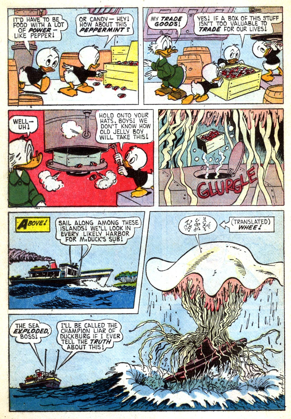 Read online Uncle Scrooge (1953) comic -  Issue #41 - 16