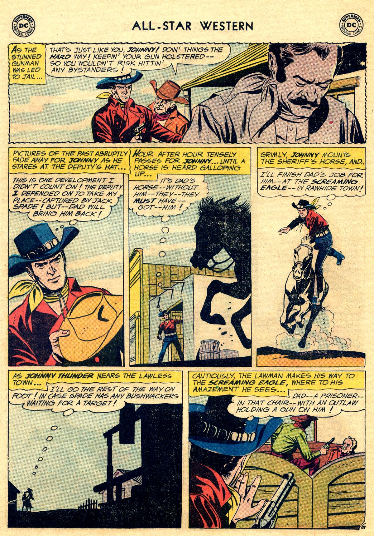 Read online All-Star Western (1951) comic -  Issue #109 - 8