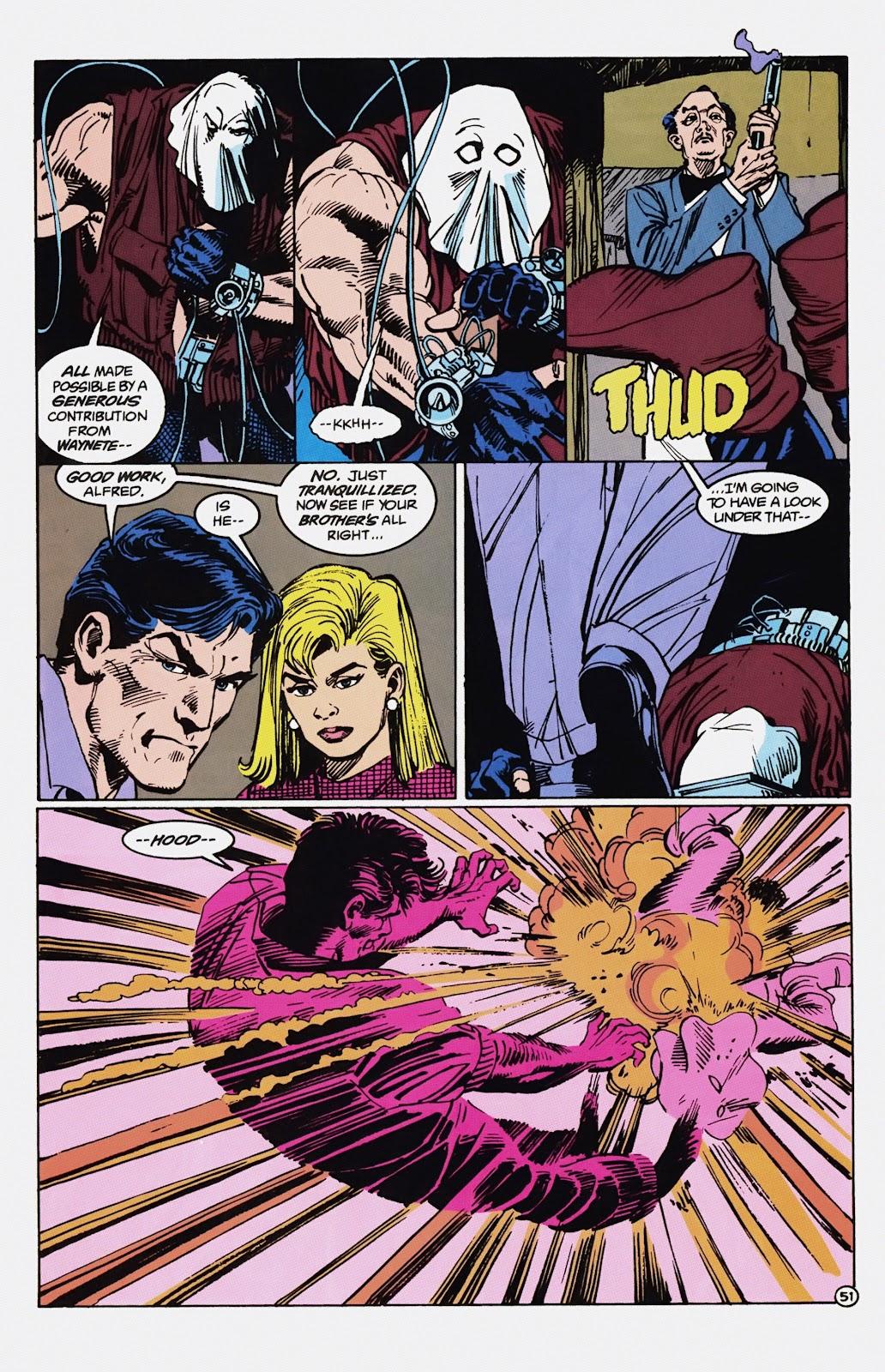 Read online Detective Comics (1937) comic -  Issue # _TPB Batman - Blind Justice (Part 1) - 56