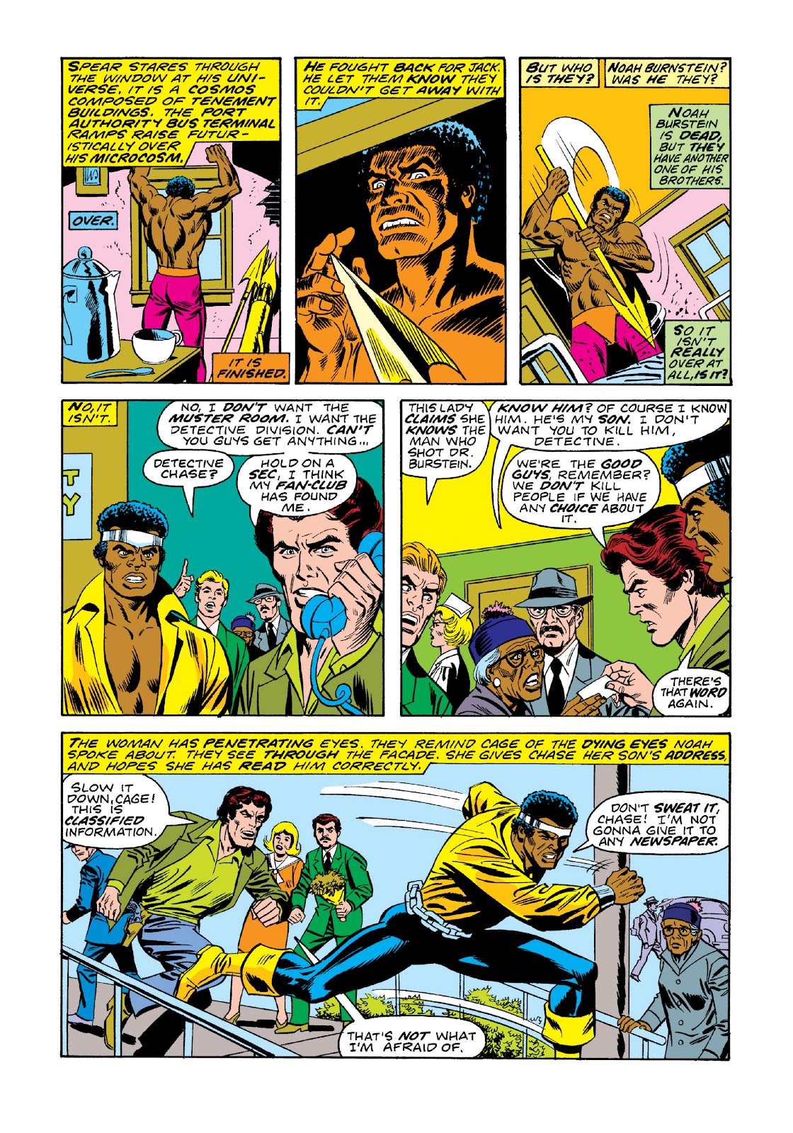 Read online Marvel Masterworks: Luke Cage, Power Man comic -  Issue # TPB 3 (Part 1) - 74