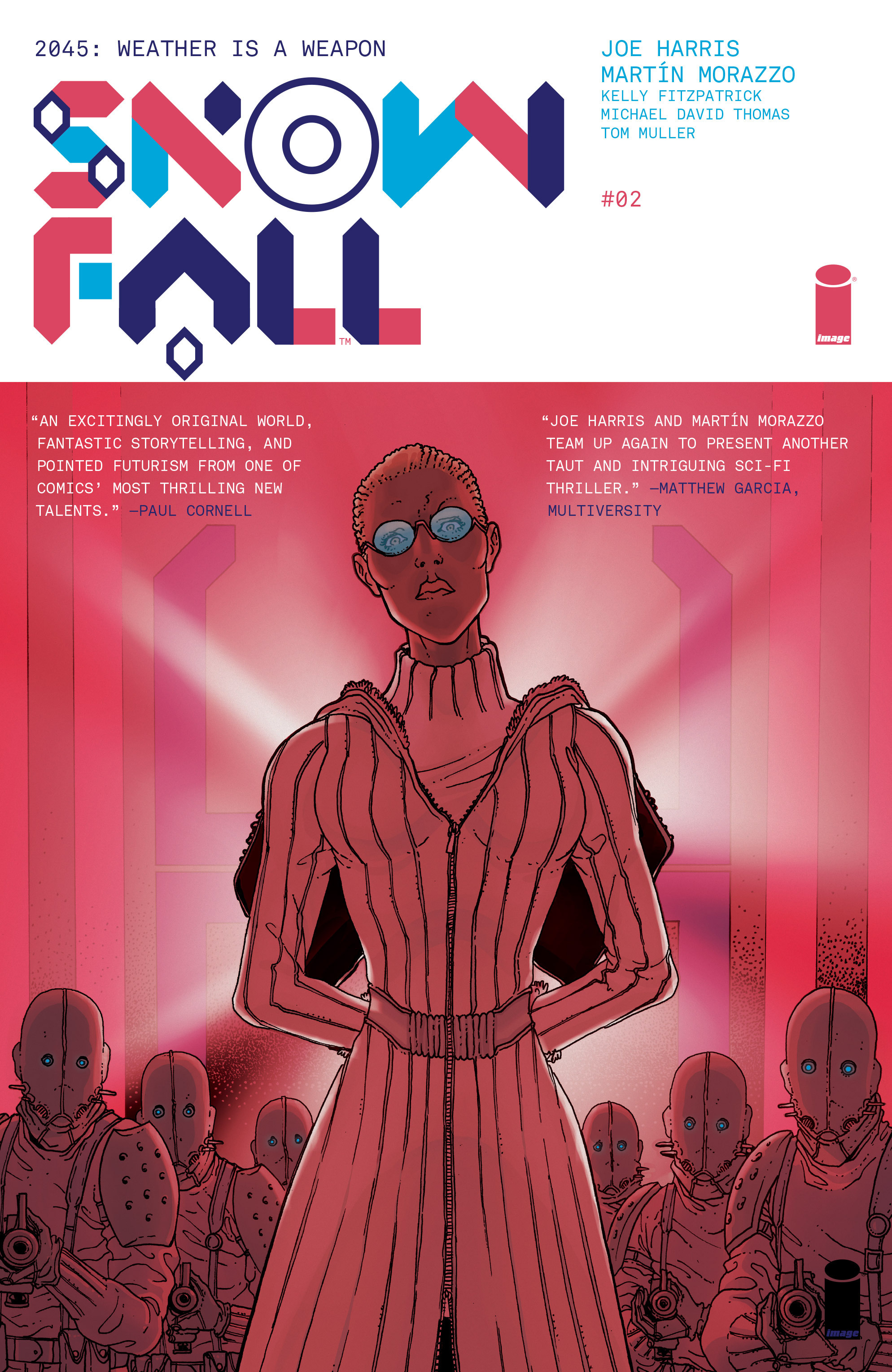 Read online Snowfall comic -  Issue #2 - 1