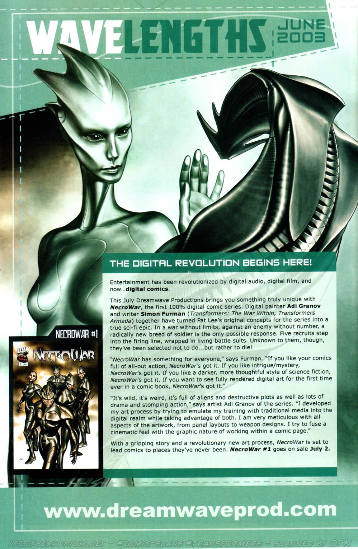 Read online Transformers Armada comic -  Issue #12 - 30