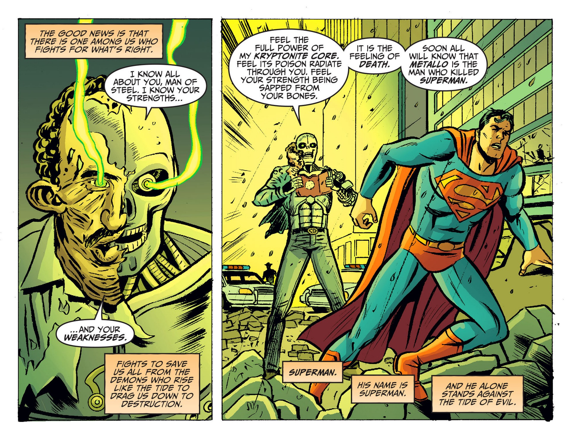 Read online Adventures of Superman [I] comic -  Issue #19 - 5