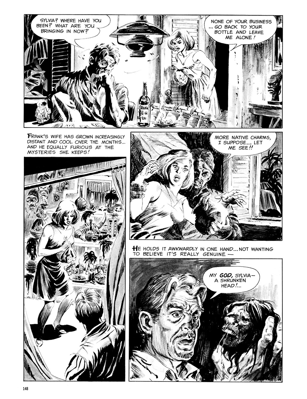 Read online Eerie Archives comic -  Issue # TPB 3 - 149