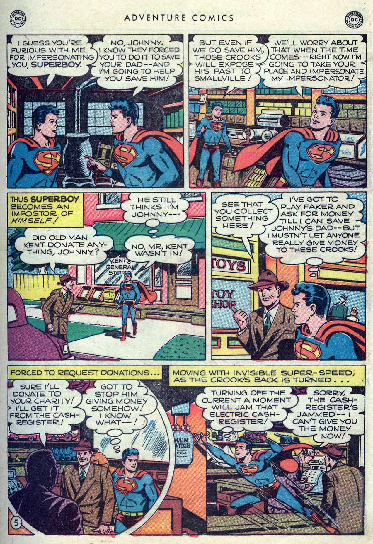 Read online Adventure Comics (1938) comic -  Issue #149 - 7