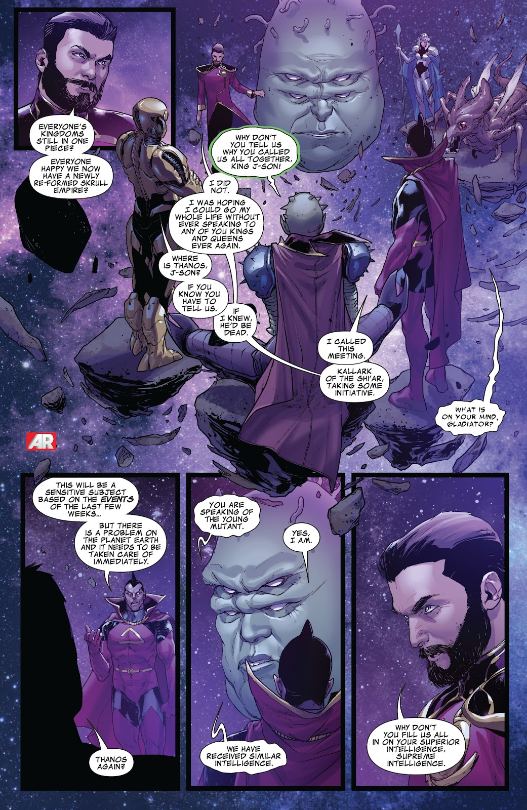 Guardians of the Galaxy/All-New X-Men: The Trial of Jean Grey issue TPB - Page 29