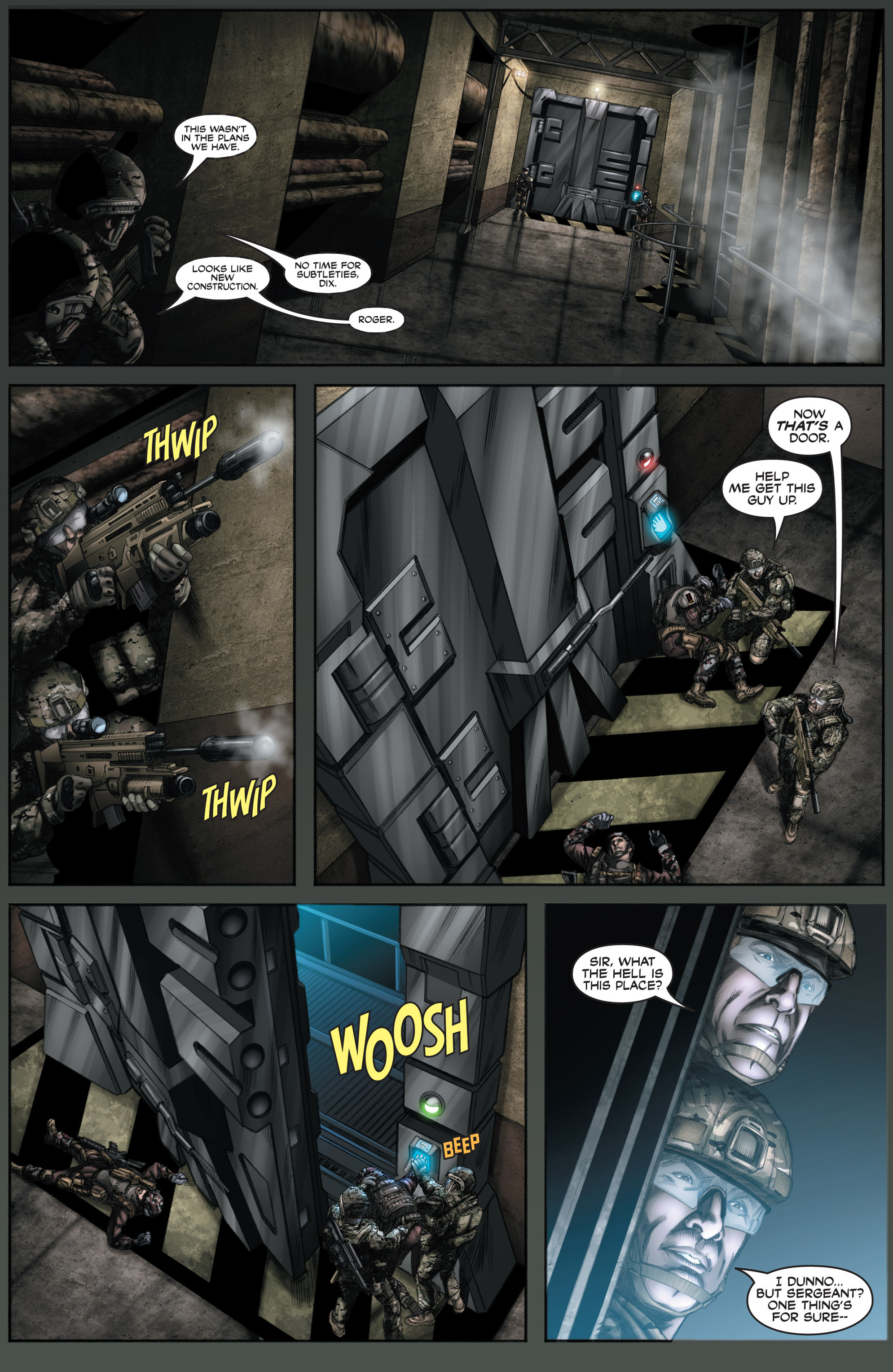 Read online America's Army comic -  Issue #8 - 21