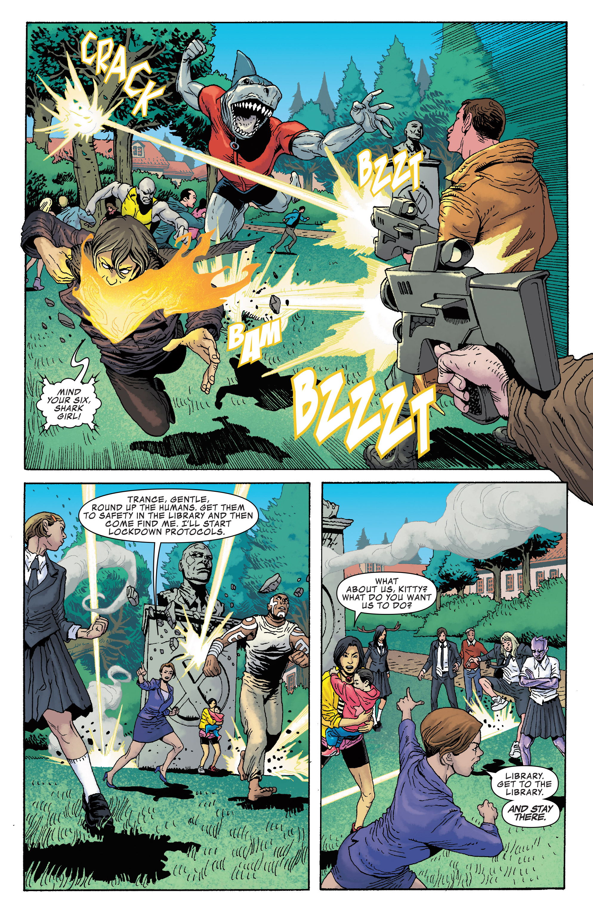 Read online Generation X (2017) comic -  Issue #2 - 5
