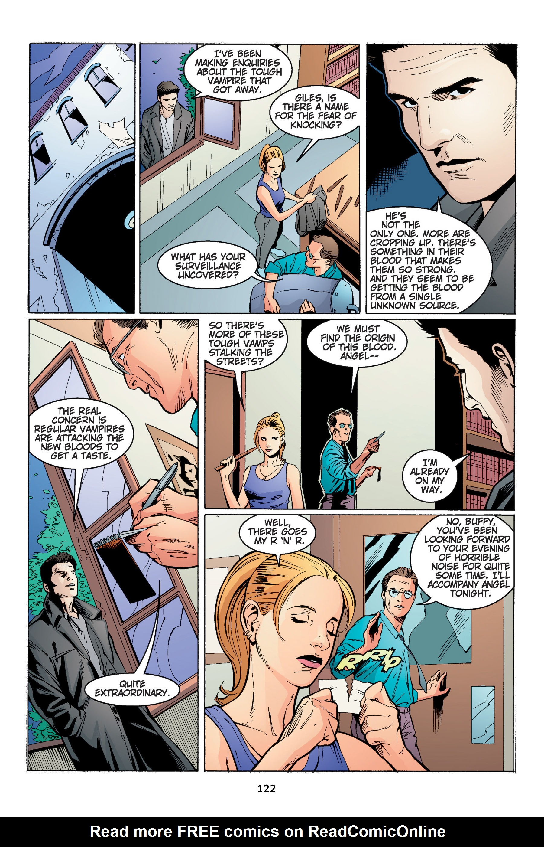 Read online Buffy the Vampire Slayer: Omnibus comic -  Issue # TPB 4 - 123