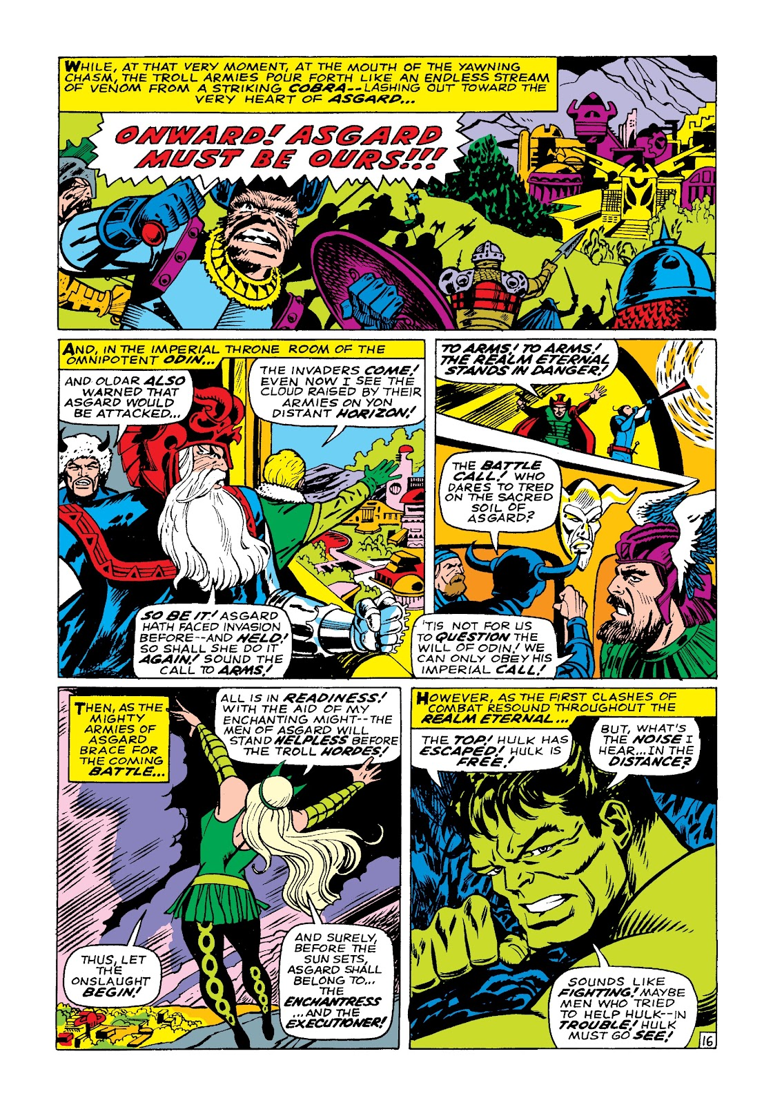 Read online Marvel Masterworks: The Incredible Hulk comic -  Issue # TPB 3 (Part 3) - 79