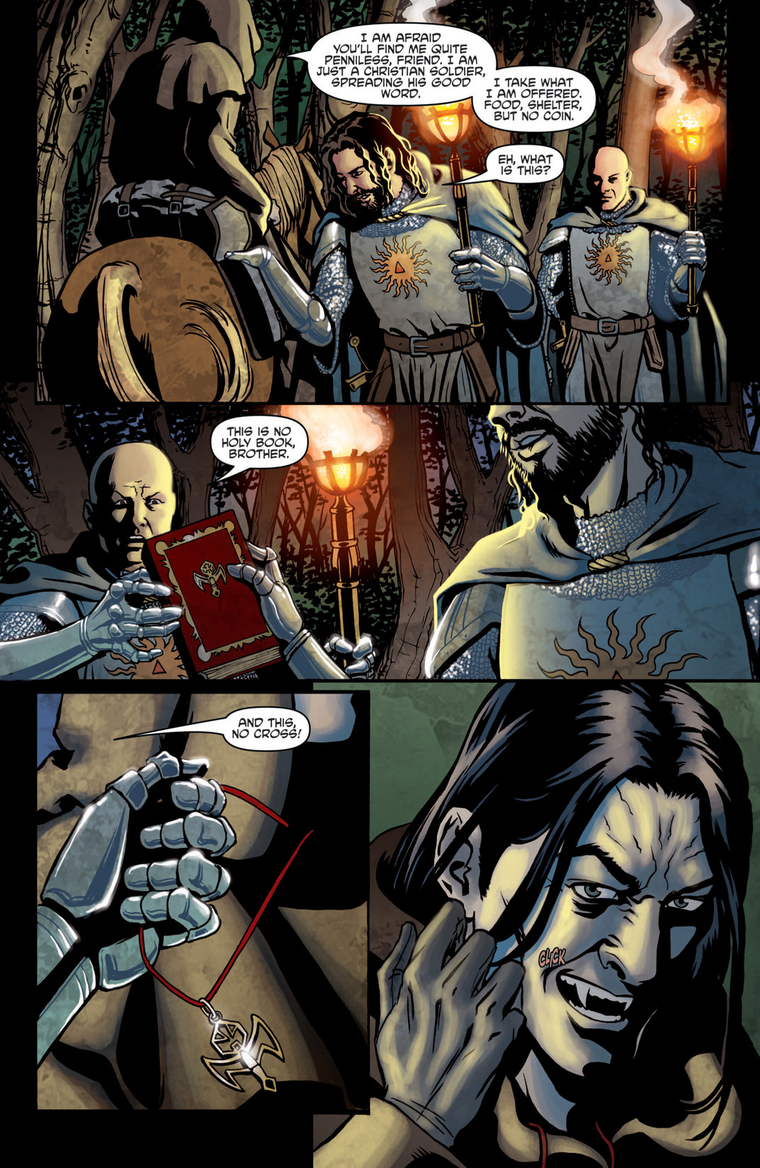 Read online True Blood (2012) comic -  Issue #5 - 7