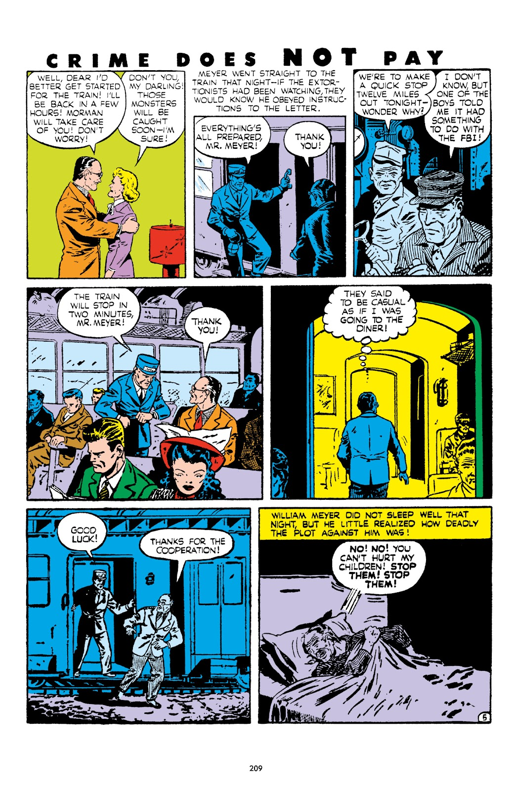 Read online Crime Does Not Pay Archives comic -  Issue # TPB 5 (Part 3) - 9