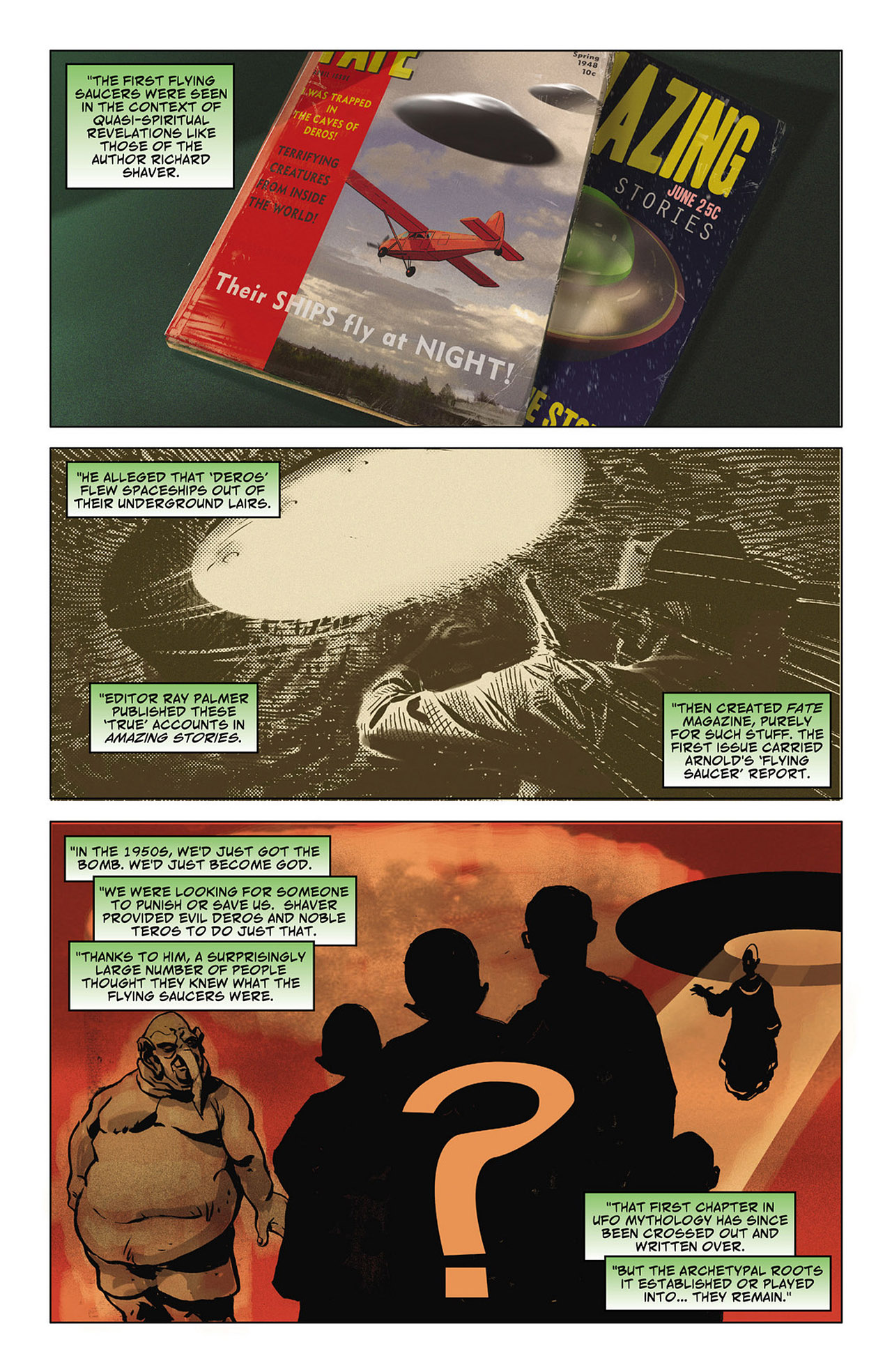 Read online Saucer Country comic -  Issue #6 - 8