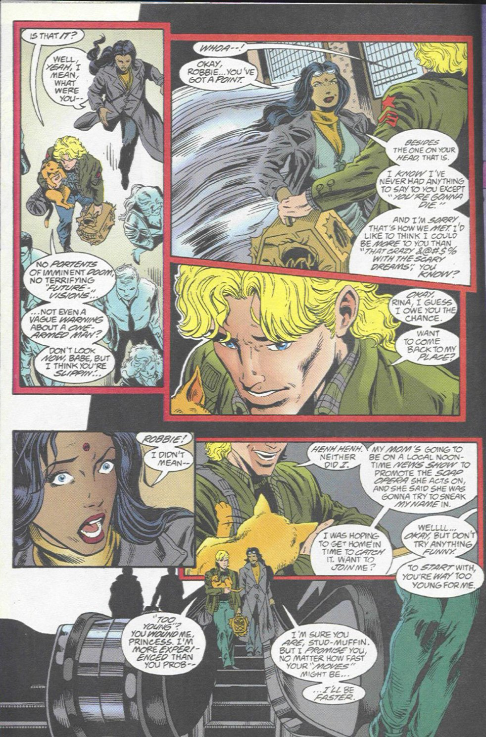 The New Warriors Issue #67 #71 - English 17