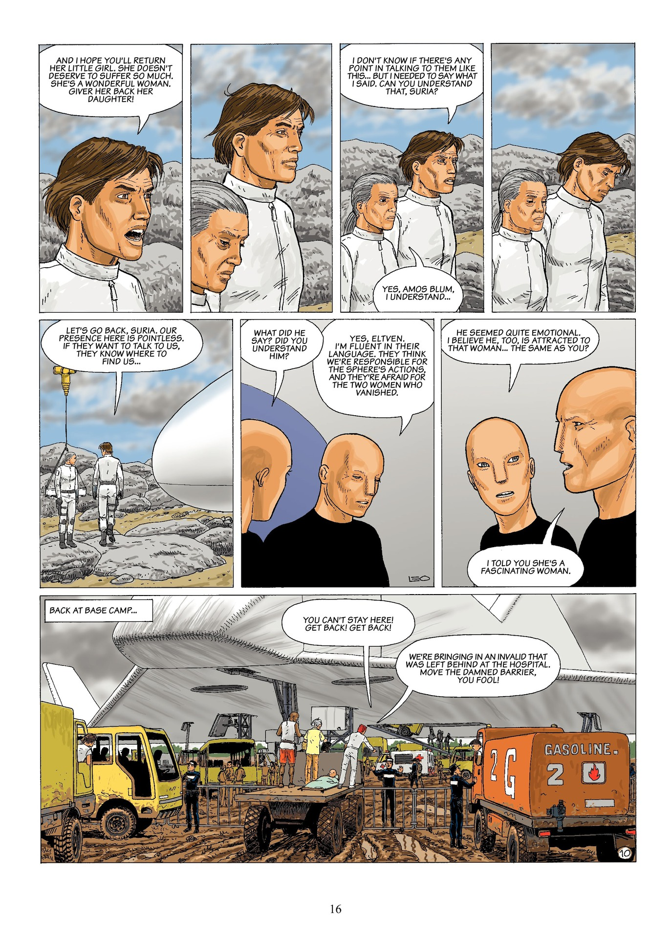 Read online Antares comic -  Issue #6 - 18
