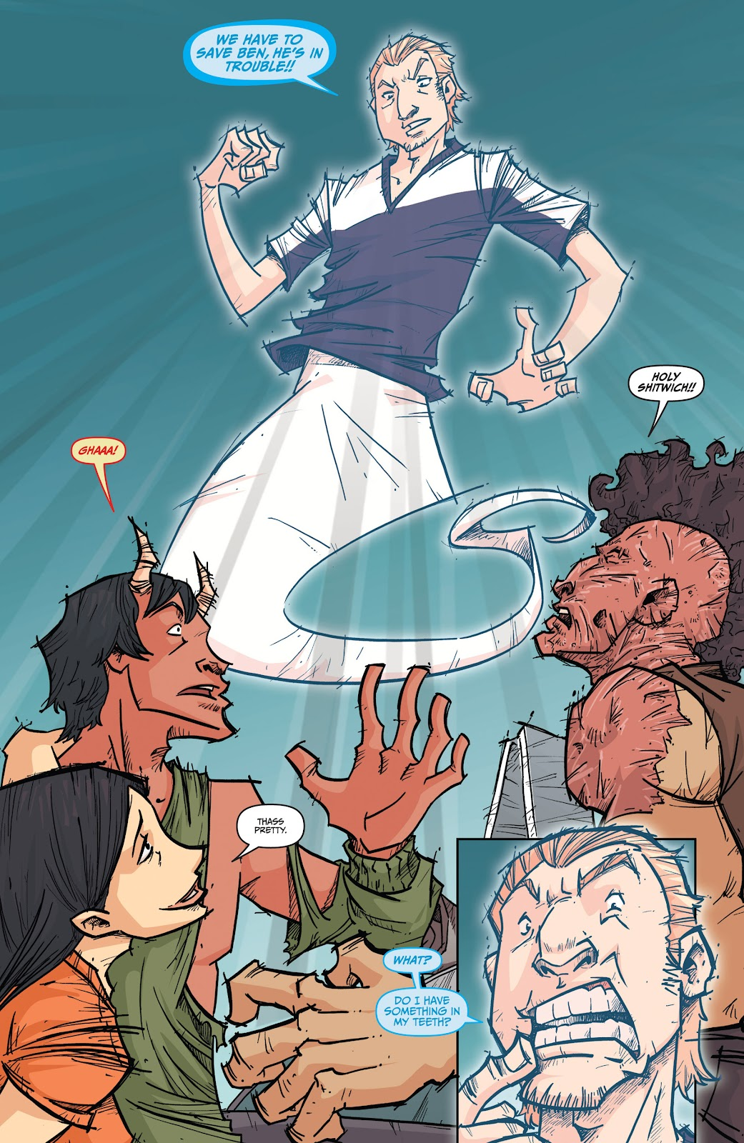 Read online The End Times of Bram and Ben comic -  Issue #4 - 8