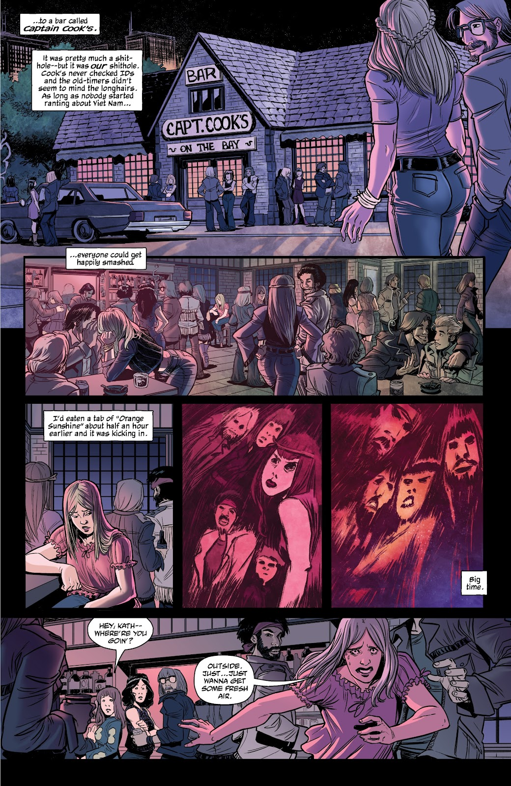 Read online The Girl In The Bay comic -  Issue #1 - 7