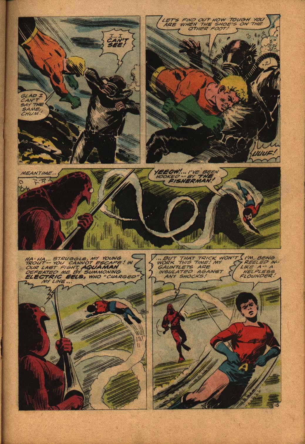 Read online Aquaman (1962) comic -  Issue #24 - 21