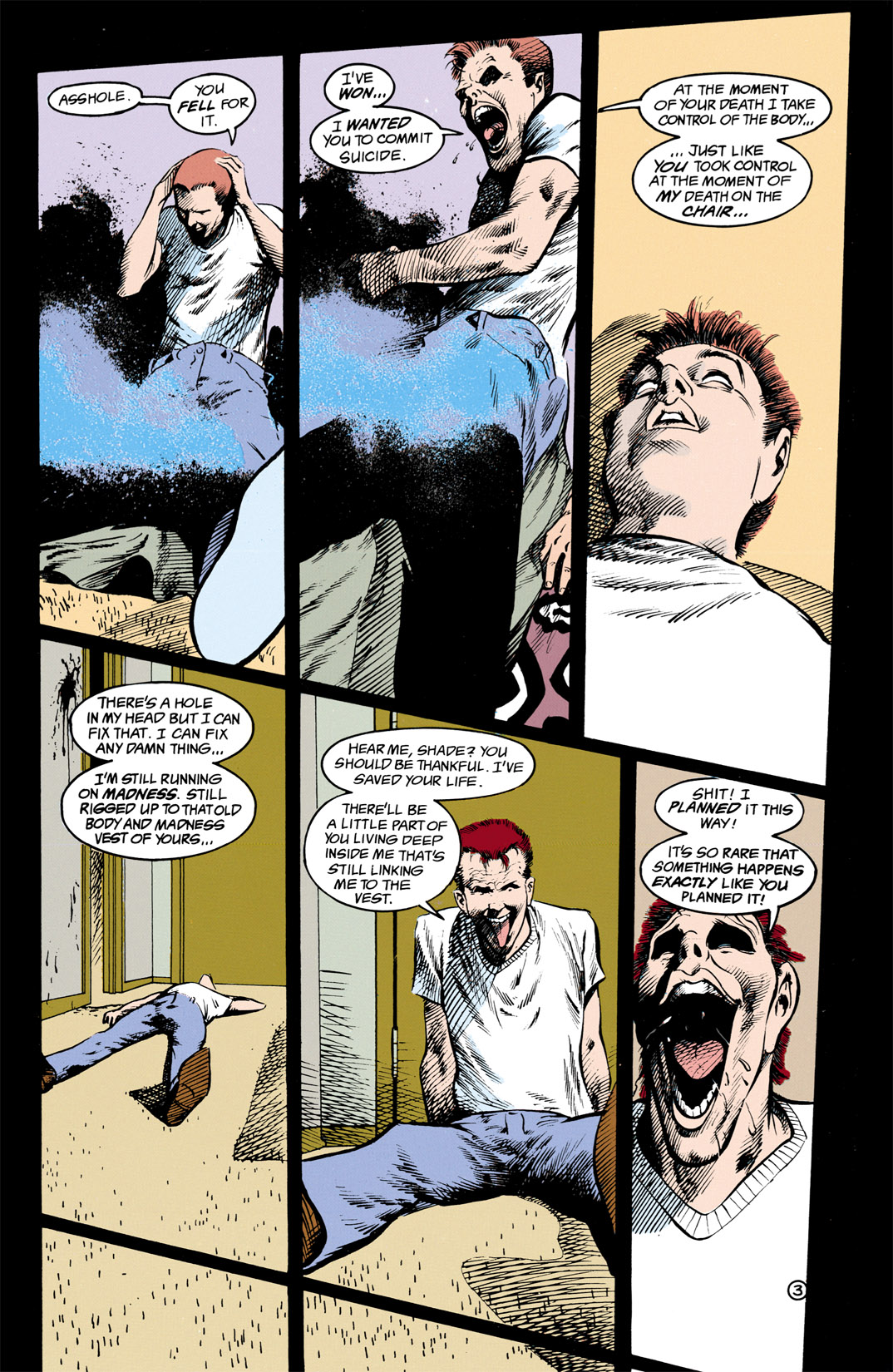 Read online Shade, the Changing Man comic -  Issue #13 - 4