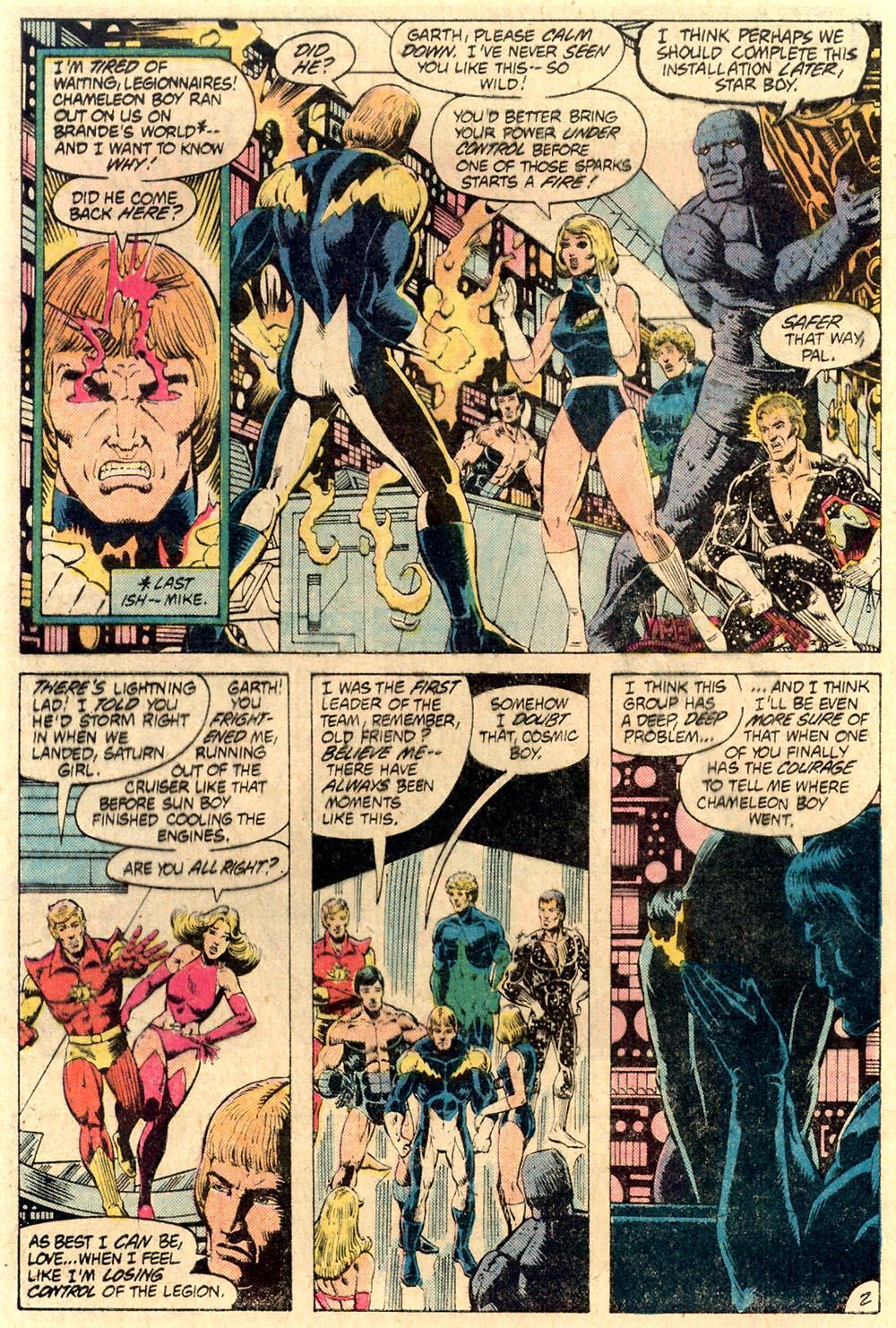 Legion of Super-Heroes (1980) 287 Page 2