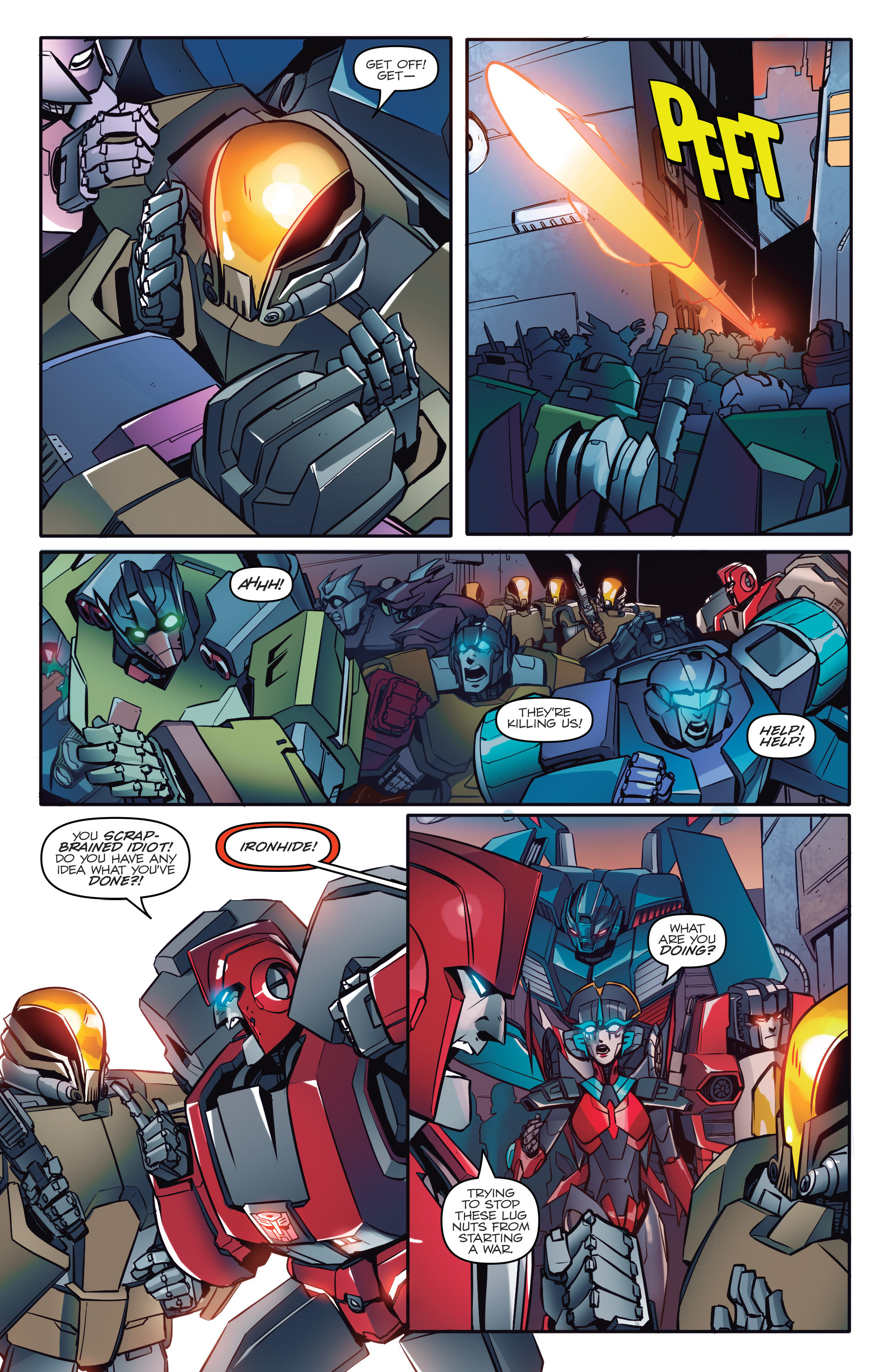 Read online Transformers: Till All Are One comic -  Issue #1 - 19
