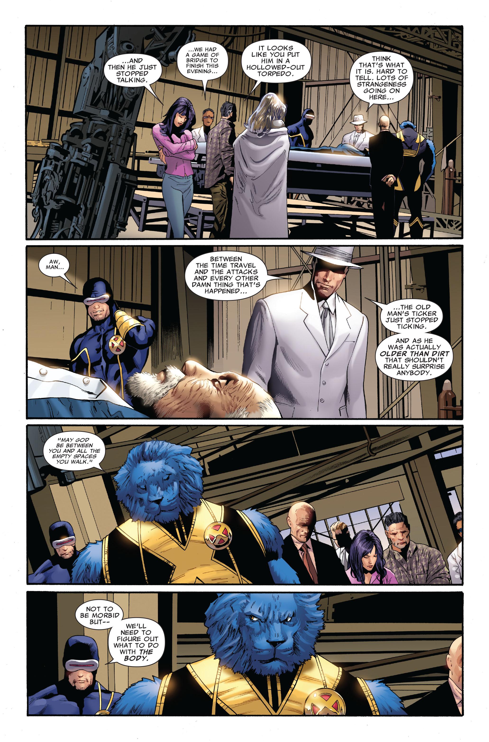 Read online Uncanny X-Men (1963) comic -  Issue #515 - 13