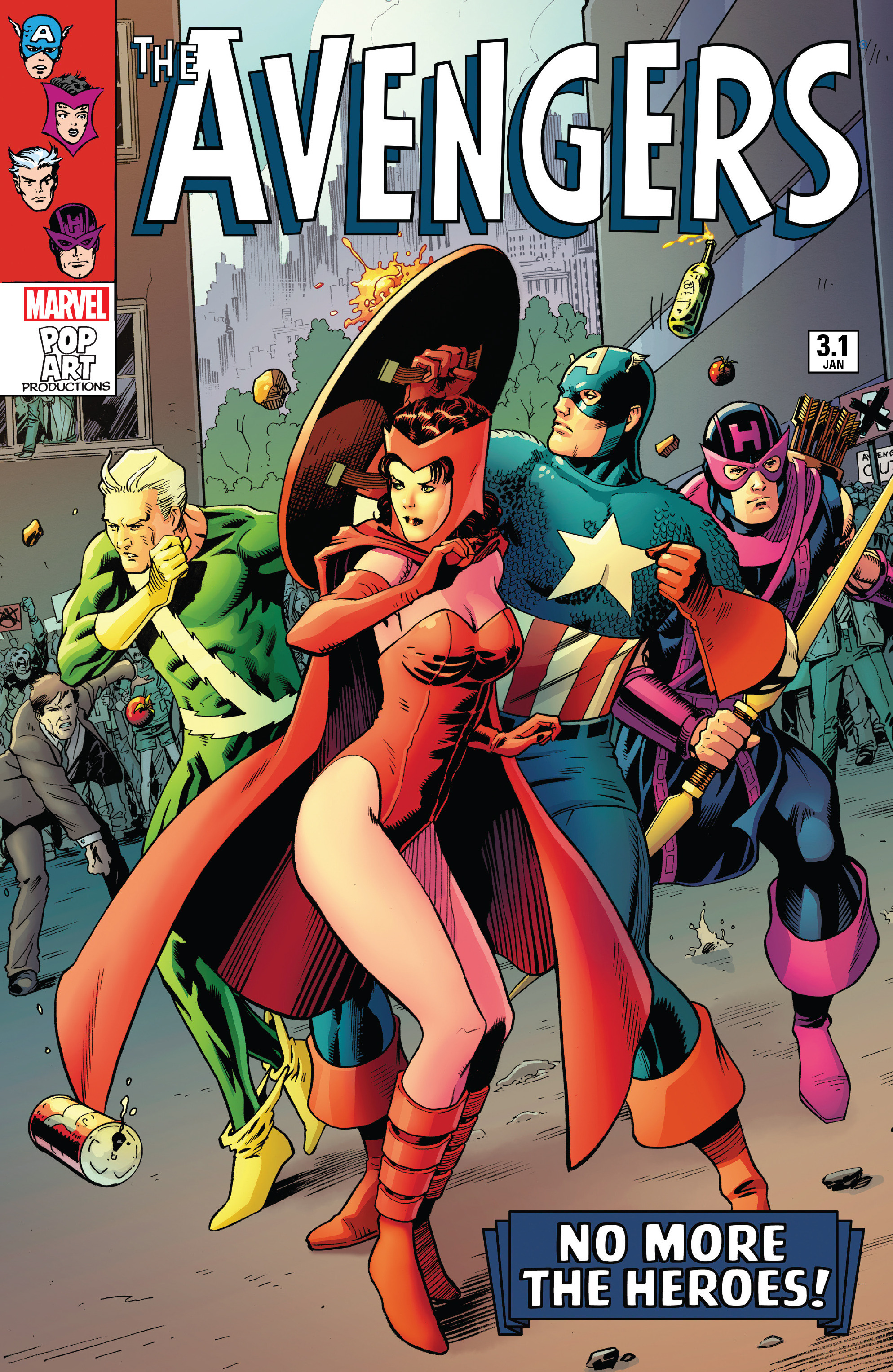 Read online Avengers (2016) comic -  Issue #3.1 - 1