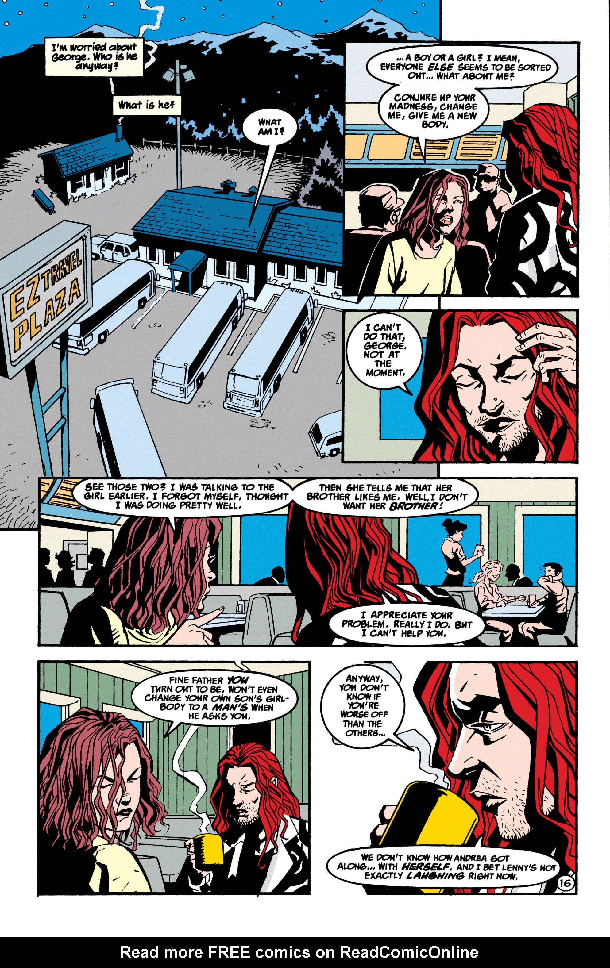 Read online Shade, the Changing Man comic -  Issue #70 - 17