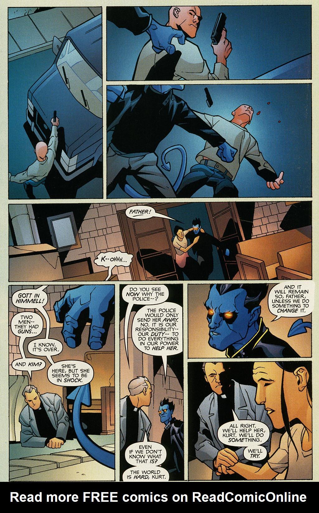 Read online Nightcrawler (2002) comic -  Issue #1 - 20