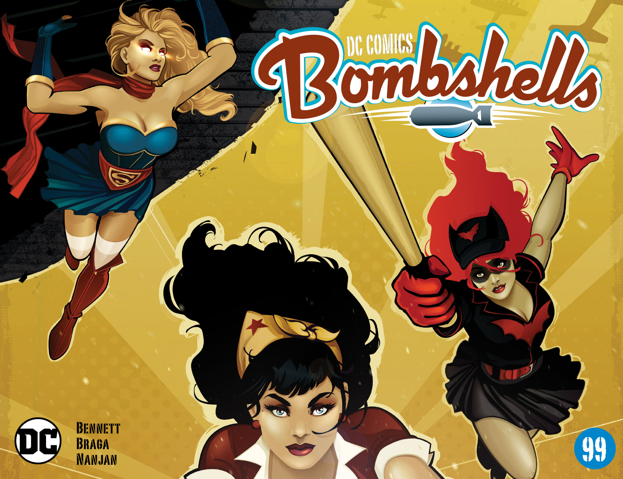 Read online DC Comics: Bombshells comic -  Issue #99 - 1